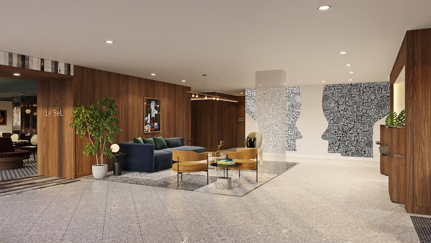 Banneker Hotel Lobby