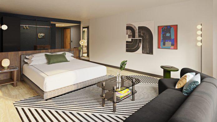 Banneker Hotel guestroom