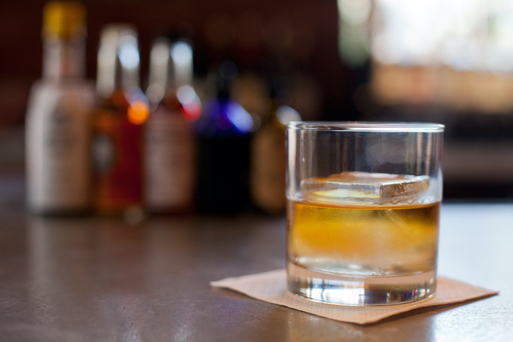 Bourbon at Red Owl Tavern at Kimpton Hotel Monaco Philadelphia (Photo credit: Chris Fascenelli)