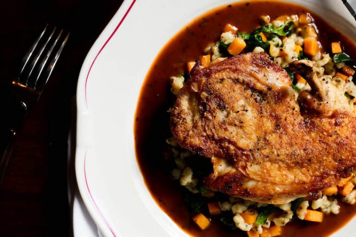 A donation from every Chicken au Poivre Flambe at The Katharine Brasserie & Bar,KimptonCardinal, in Winston-Salem, N.C., willgo to No Kid Hungry.