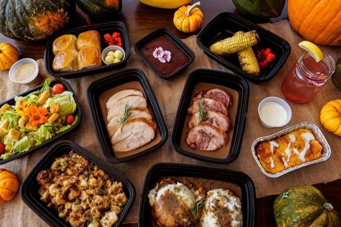 Thanksgiving to-go at Prince Waikiki