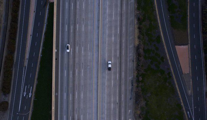 travel, empty road