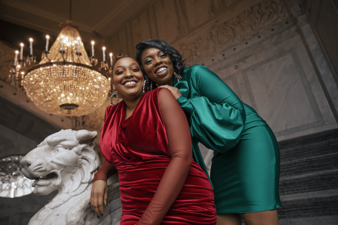 Jessica Myers and Davonne Reaves of Epiq Collective