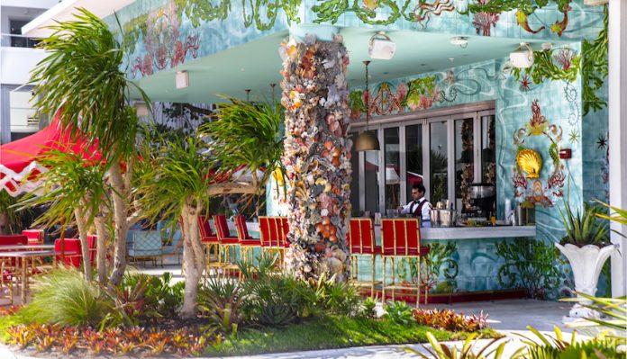 The Sun Bar at Faena Hotel Miami Beach (Photo by Bill Wisser)
