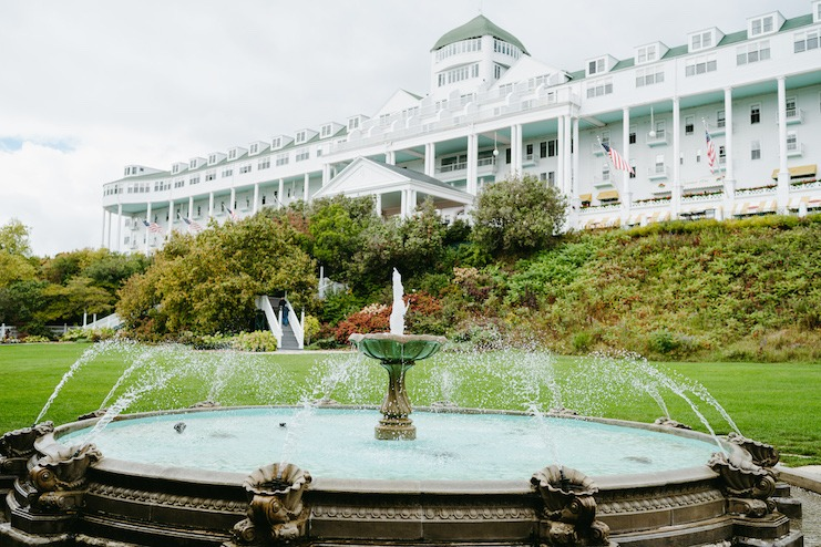 The Grand Hotel on Mackinac Island, Mich.