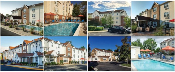 A Three Wall Capital affiliate acquired these eight TownPlace Suites