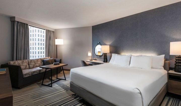 After: Hyatt Regency Houston Standard King Room