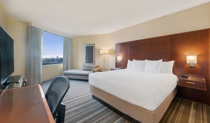 Before: Hyatt Regency Houston Standard King Room