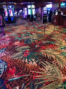 El Cortez Hotel & Casino installed new carpet on the casino floor as part of its $25 million remodel.