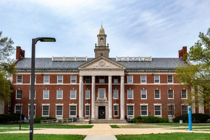 Frederick Douglass Memorial Hall at Howard University