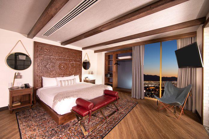 El Cortez Hotel & Casino Tower Rooms (Credit: Chris Wesslin)