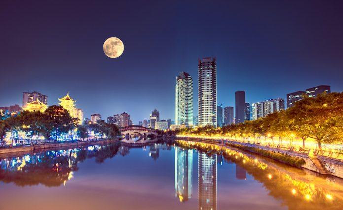 Chengdu, Sichuan province of China