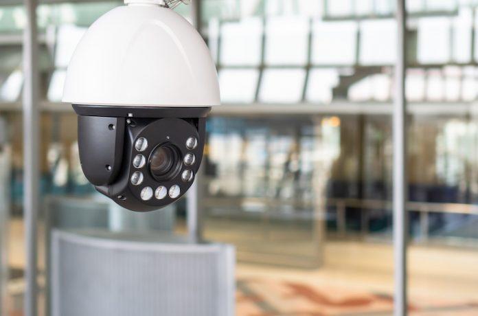 hotel security camera