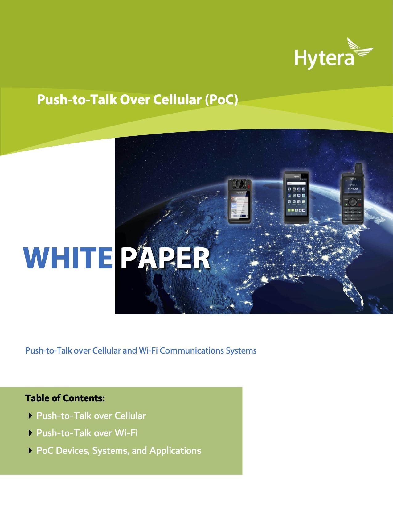 Hytera PoC Whitepaper