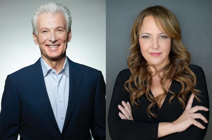 David Stoup, presidente de Trilogy Spa Holdings, y Cheryl Sott, fundadora y directora ejecutiva de Trinity Spa Advisors